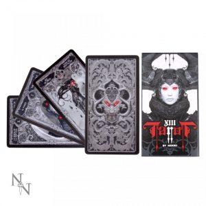 Tarot card deck Nekro